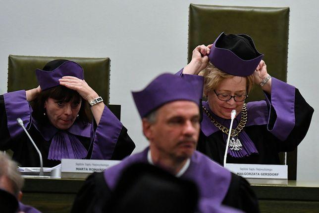 Sądy nie są od uchwalania prawa - ocenił Radosław Fogiel w nawiązaniu do uchwały Sądu Najwyższego