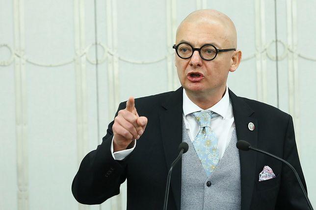 Wicemarszałek Senatu Michał Kamiński (PSL-UED)