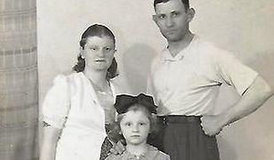 Chaim, Malwina i Dusia Blum - żydowska rodzina uratowana przez Polaków