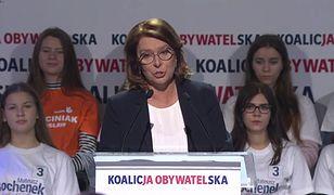 Wybory parlamentarne 2019. Małgorzata Kidawa-Błońska: radykalne zmiany PiS uderzą w Polaków