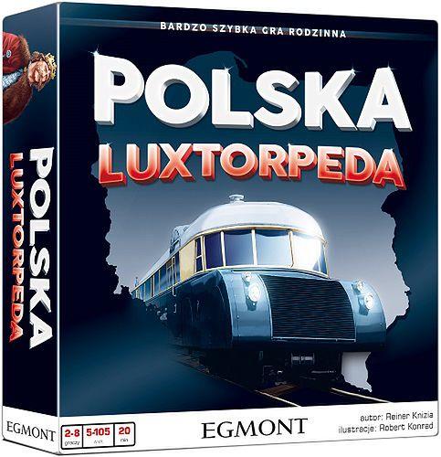 """""""Polska Luxtorpeda"""" - gra rodzinna szybka jak lokomotywa!"""