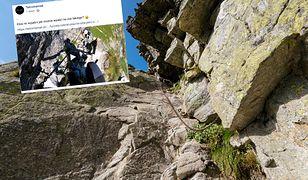 Orla Perć uważana jest za najtrudniejszy szlak w Tatrach