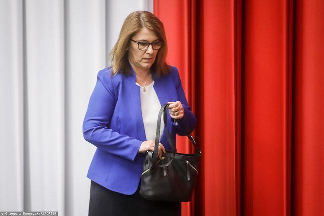 Beata Mazurek: Panie Banaś, pobudka!