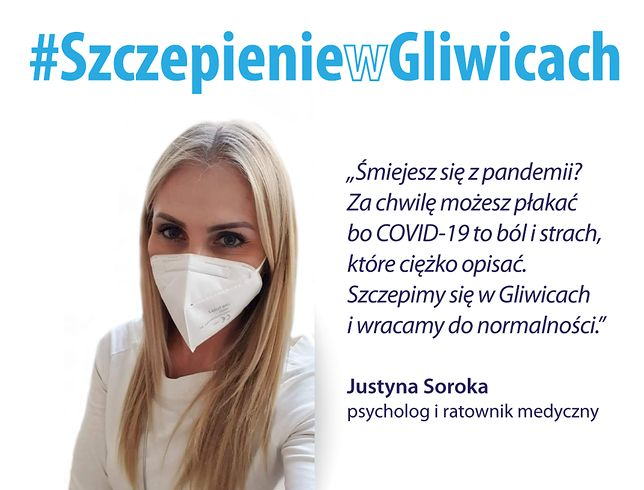 Śląskie. Rusza edukacyjna kampania wyjaśniająca Szczepienie w Gliwicach, którą organizują miejscowi medycy.