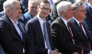 """Premier Mateusz Morawiecki na święcie wsi w Kolnie. """"Żniwa jak koniec kadencji"""""""