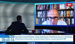 """Koronawirus w Polsce. Ministerstwo zdrowia zapowiada nowe obostrzenia. Czarzasty: """"Ile osób w tym czasie zmarło?"""""""