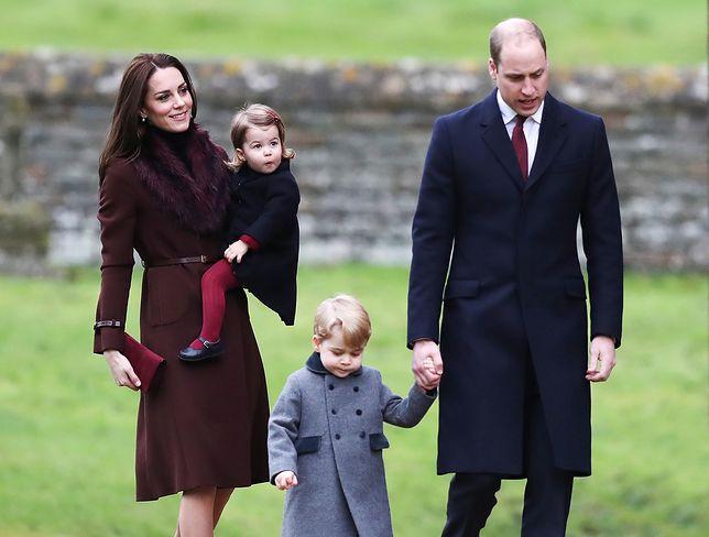 Księżniczka Charlotte i książę George wystąpili w reklamie. Księżna Kate nie miała o tym pojęcia