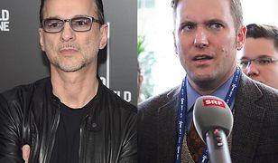 Wokalista Depeche Mode nieparlamentarnie o prawicowym polityku