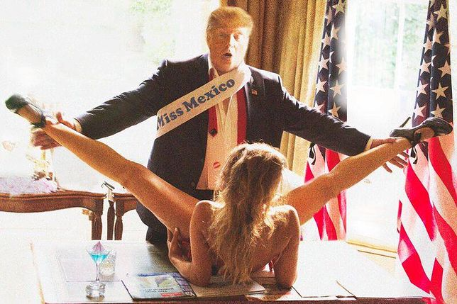 Trump i Miss Meksyku. Prezydent USA zemści się za to zdjęcie?