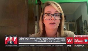 """Weronika Marczuk ocenia protesty w kościołach. """"Objaw bezsilności"""""""