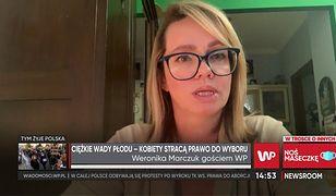 Weronika Marczuk o pomocy od państwa dla rodzin