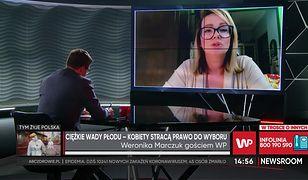 Weronika Marczuk komentuje sytuację kobiet w Polsce