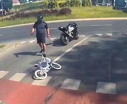 Olszyn. Motocyklista potrącił 6-letnie dziecko i odjechał. Ludzie pomogli go schwytać