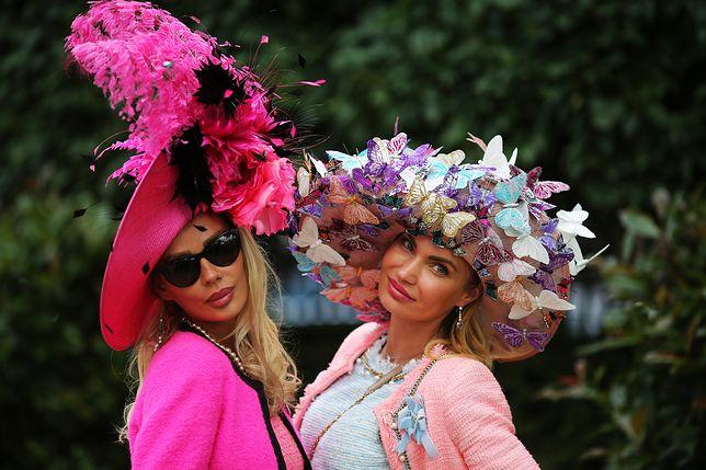 Spektakularne kapelusze na Royal Ascot 2016