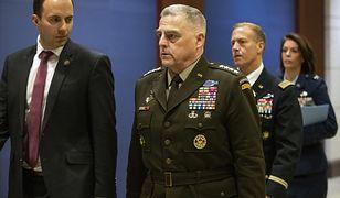 Konflikt USA-Iran. Gen. Mark Milley, przewodniczący Kolegium Szefów Sztabów USA