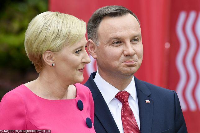 Prezydent Andrzej Duda i Agata Kornhauser-Duda