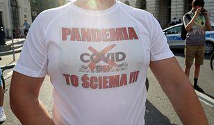 Pandemia COVID-19. W Polsce nie brak sceptyków