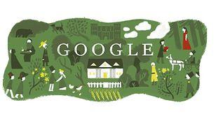 Rene Favaloro w Google Doodle. Wielu Polaków też miało swojego Doodle'a