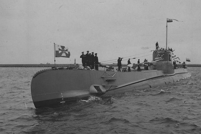 ORP Orzeł i jego załoga na zdjęciu z początku 1939 r.