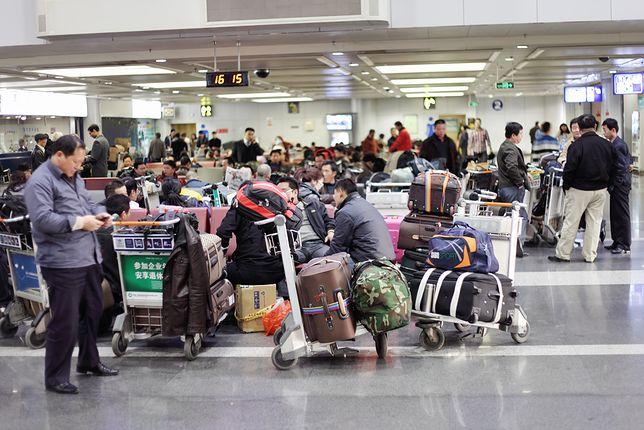 Wei Jianguo mieszka w międzynarodowym porcie lotniczym w Pekinie od blisko dekady