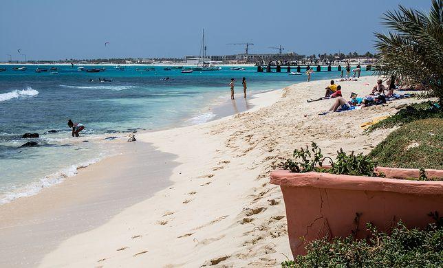 Plaże na wyspie nie są tak zatłoczone jak w Europie