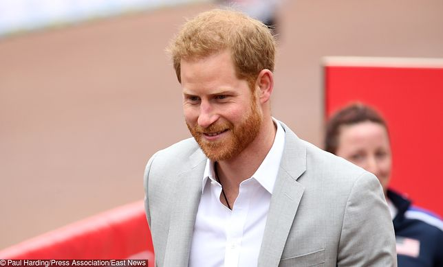 Książę Harry niebawem zostanie tatą