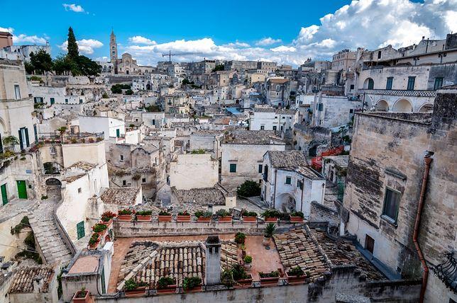 Matera - niezwykłe włoskie miasteczko