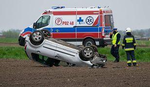 Tragiczny wypadek na trasie Śrem - Leszno. Nie żyje 81-latek