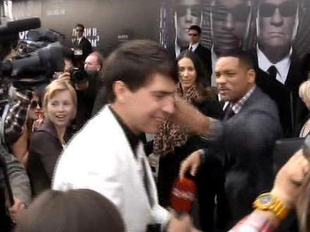 Will Smith uderzył reportera