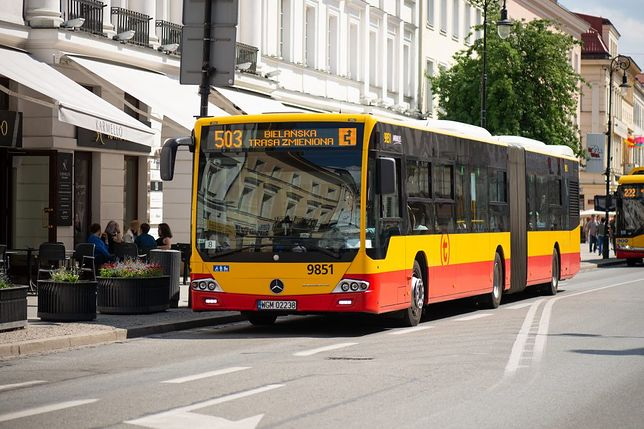 Warszawa. Mieszkańcy muszą liczyć się z utrudnieniami na stołecznych ulicach. (fot. Zarząd Transportu Miejskiego)