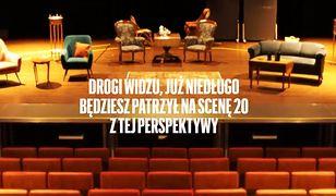 Warszawa. Nowa scena Teatru Ateneum.