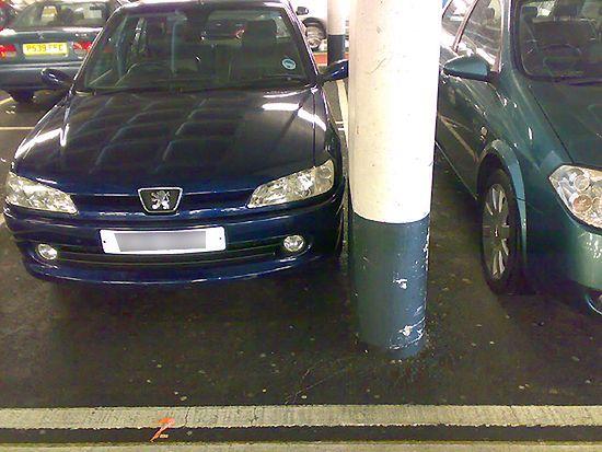 Parkowanie na grubość lakieru - zobacz zdjęcia