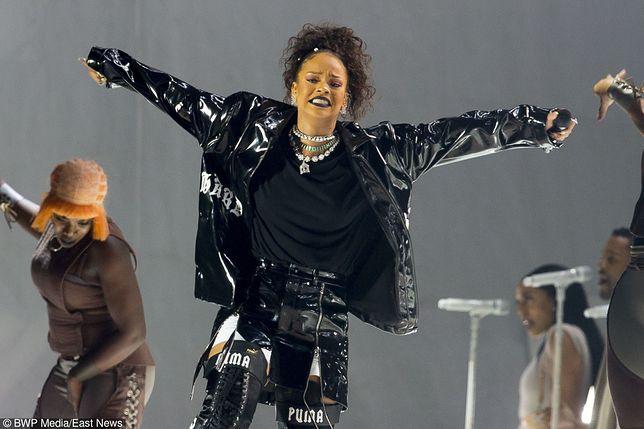 Rihanna w kurtce polskiej marki MISBHV