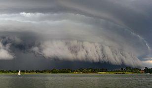 Cud, że żeglarze przeżyli. Prawdopodobnie najbardziej przerażająca chmura w Polsce