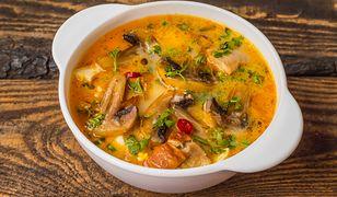 Sycąca zupa. Zastąpi dwudaniowy obiad