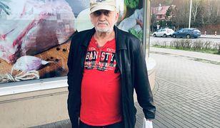 Wielkanoc w cieniu koronawirusa. 71-letni pan Marian mieszkaniec jednego z warszawskich ośrodków dla bezdomnych.