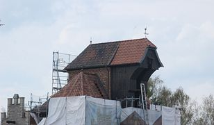W Niemczech powstaje replika gdańskiego Żurawia. Do złudzenia przypomina oryginał