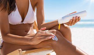 Promieniowanie słoneczne jest szkodliwe w szczególności w okresie letnim.