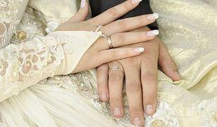 Suknia ślubna - złota kreacja!