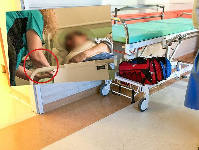 Pielęgniarka została odsunięta od pracy. Wszczęto postępowanie.