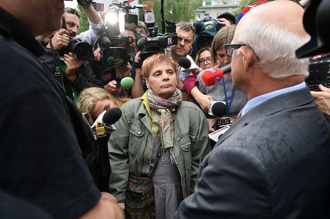 Posłowie i senatorowie PO mówili, że Janina Ochojska przyszła na ich zaproszenie