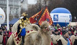 Ostatnie przygotowania do Orszaku Trzech Króli w Warszawie