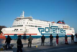 Wypadek na promie płynącym z Gdańska do Szwecji. Zaginął Mężczyzna