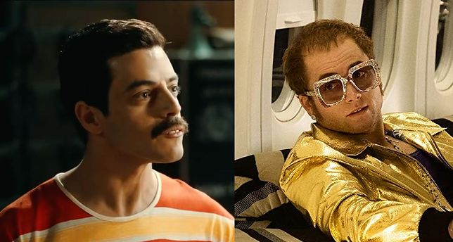 Rami Malek jako Freddie Mercury i Taron Egerton jako Elton John