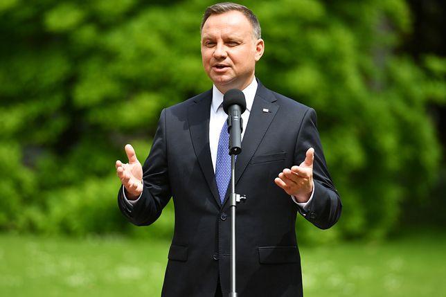 Wybory 2020. Andrzej Duda zaprosił Roberta Biedronia do Pałacu Prezydenckiego