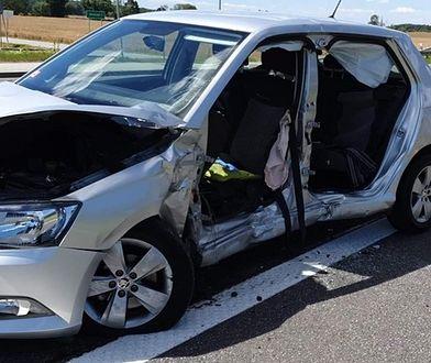 Środa Śląska. Poważny wypadek na DK94. Jedna osoba nie żyje