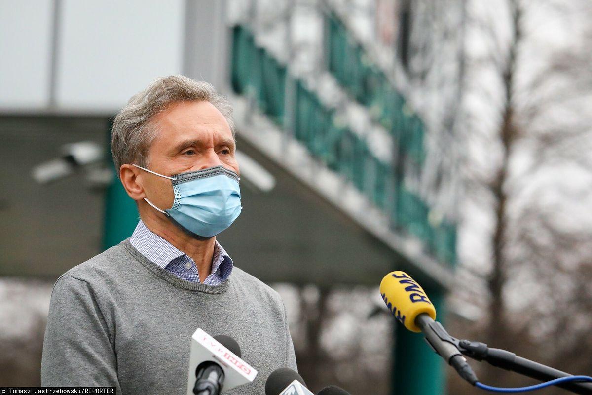 Zbigniew Gaciong przeprosił lekarzy z Okręgowej Izby Lekarskiej w Warszawie