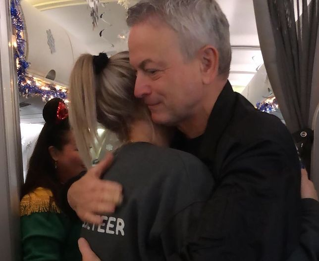 Gary Sinise pomaga dzieciom zmarłych żołnierzy