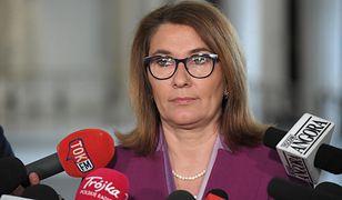 Beata Mazurek skomentowała sobotnie wydarzenia w Warszawie
