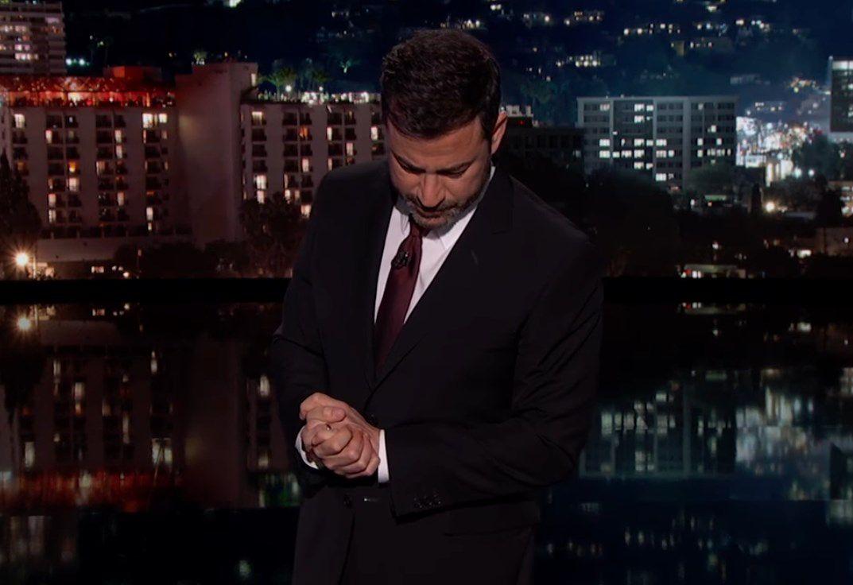 Jimmy Kimmel wybuchł płaczem na wizji. Opowieść prowadzącego wstrząsnęła widzami